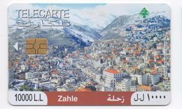 Zahle 2010 Used Phonecard Lebanon , Liban Telecarte Libano - Liban