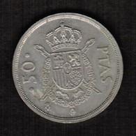 SPAIN  50 PESETAS 1983 (KM # 825) #5305 - [ 5] 1949-… : Kingdom