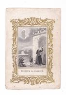 Faisons La Charité, Image Pieuse Gravure, éditeur Illisible, Lyon - Santini