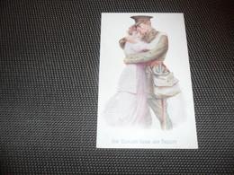 Illustrateur ( 503 )   H. Ludlow  1914   Soldat    Soldaat - Künstlerkarten