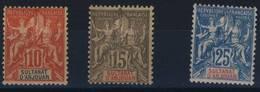 ANJOUAN   N ° 14  /  16 - Anjouan (1892-1912)