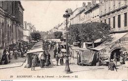 ROCHEFORT RUE DE L'ARSENAL LE MARCHE 1923 TBE - Rochefort