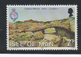 Arche De Langness  Isle De Man Timbre ** Géologie - Géologie