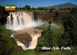 AK Äthiopien Ethiopia Blue Nile Falls New Postcard - Äthiopien