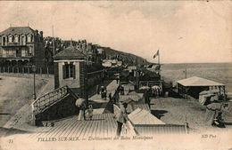 VILLERS-SUR-MER - Etablissement Des Bains Municipaux - Villers Sur Mer