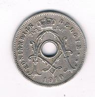 5 CENTIMES 1910 VL  BELGIE/4691/ - 1909-1934: Albert I