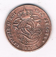 2 CENTIMES 1875  BELGIE/4694/ - 02. 2 Centimes