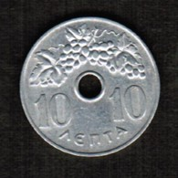 GREECE  10 LEPTA 1966 (KM # 78) #5310 - Greece