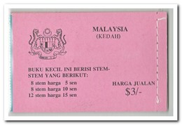 Maleisië Johor 1979, Postfris MNH, Flowers ( Booklet ) - Maleisië (1964-...)