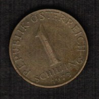AUSTRIA  1 SCHILLING 1973 (KM # 2886) #5311 - Austria