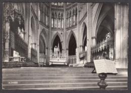101591/ METZ, La Cathédrale, Le Choeur Et Siège En Marbre De Saint-Clément - Metz