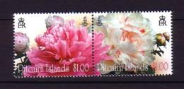 2011 Pitcairn Neuf** N° 751/52 Fleur : Pivoine Arbustive - Timbres