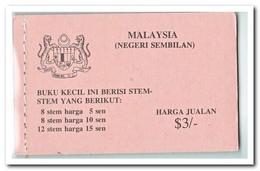 Negeri Sembilan 1979, Postfris MNH, Flowers ( Booklet ) - Maleisië (1964-...)