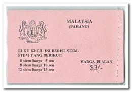 Pahang 1979, Postfris MNH, Flowers ( Booklet ) - Maleisië (1964-...)