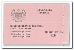 Perak 1979, Postfris MNH, Flowers ( Booklet ) - Maleisië (1964-...)