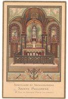 SANCTUAIRE ARCHICONFRERIE SAINTE PHILOMENE IMAGE PIEUSE RELIGIEUSE HOLY CARD SANTINI HEILIG PRENTJE - Santini
