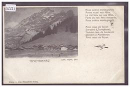 DISTRICT D'AIGLE - TAVEYANNAZ - TB - VD Vaud
