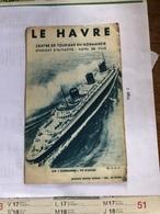 Le Havre - Dépliants Turistici