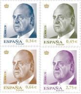 ESPAÑA 2010 - SERIE BASICA DEL REY JUAN CARLOS I - Edifil Nº 4537-4540 - 1931-Hoy: 2ª República - ... Juan Carlos I