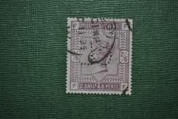Grande-Bretagne 1883 Y&T 86 Perforé Défectueux - Perforés