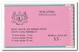 Trengganu 1979, Postfris MNH, Flowers ( Booklet ) - Maleisië (1964-...)