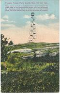 FORESTRY TOWER - PARRY SOUND - ONTARIO - WITH PARRY SOUND POSTMARK - Ontario