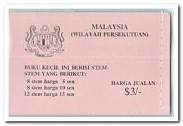 Wilayah Persekutuan 1979, Postfris MNH, Flowers ( Booklet ) - Maleisië (1964-...)