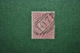Grande-Bretagne 1855 Y&T 18 Oblitéré Papier Sale - 1840-1901 (Victoria)