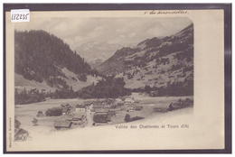 DISTRICT D'AIGLE - AUX DIABLERETS - TB - VD Vaud