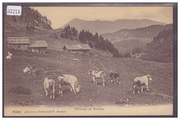 DISTRICT D'AIGLE - PATURAGE DE BRETAYE - TB - VD Vaud