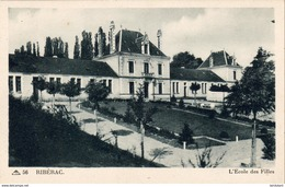 D24  RIBERAC   L'Ecole Des Filles - Riberac
