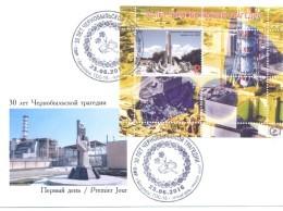 2016. Transnistria, 30y Of Chernobyl Catastrophe, FDC, Mint/** - Moldawien (Moldau)