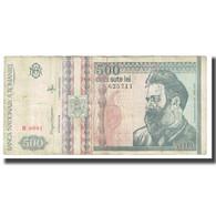 Billet, Roumanie, 500 Lei, 1992, 12-1992, KM:101b, TTB - Roumanie