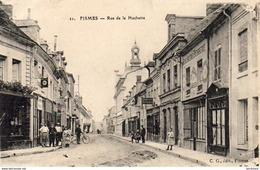 D51  FISMES  Rue De La Huchette ............ Boulangerie Patisserie - Fismes