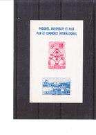 Exposition De Bruxelles 1958 - HAITI Bloc 476/7** - 1958 – Bruxelles (Belgique)