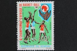 TIMBRE SENEGAL 6 EME CHAMPIONNAT D AFRIQUE DE BASKET BALL OBLITERE TB - Senegal (1960-...)