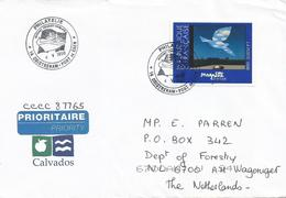 France 1998 Ouistreham Caen Ferry Ship Magritte Dove Pigeon Cover - France