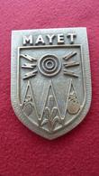 72  - MAYET- Médaille Bronze  Récompense , Avec Les Compliments De La Municipalité - Mayet