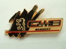 PIN'S  PEUGEOT - CLUB GTI - Peugeot