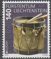 Liechtenstein Europa 2014 N° 1642 ** Instruments De Musique - Europa-CEPT