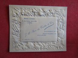 Carte De Visite J.P.Roix Da Cunha & Cª - Moveis E Estofos Rua Da Prata 256 A 264 Lisboa 1909 - Visiting Cards