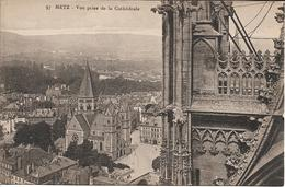 Metz - Vue Prise De La Cathédrale - Metz