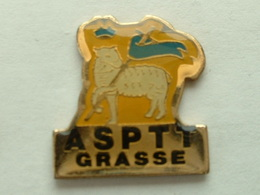 Pin's LA POSTE   - ASPTT  GRASSE - Mail Services