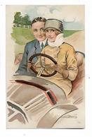 """""""  Amours , Délices ..... Et  Autos  """"        -    Série   No    49 -    3 - Meunier, S."""