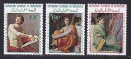 MAURITANIE AERIENS N°   78 à 80 ** MNH Neufs Sans Charnière, TB (D7065) Tableaux De Dominique Ingres - Mauretanien (1960-...)