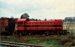 Bath & Hammondsport Railroad Alco S-1 Loocomotive Number 5 - Trains