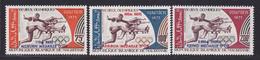 MAURITANIE AERIENS N°  128 à 130 ** MNH Neufs Sans Charnière, TB (D7393) Médailles D'or Aux Jeux Olympiques Munich - Mauritanie (1960-...)