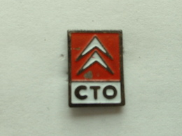 Pin's CITROËN - CTO - Citroën