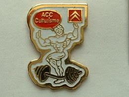 Pin's CITROËN - ACC CULTURISME - Citroën