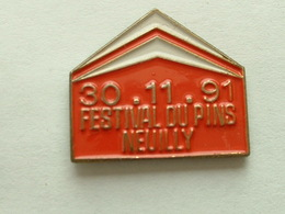 PIN'S  CITROËN - FESTIVAL DU PIN'S NEUILLY - 30/11/91 - Citroën